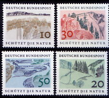 European nature conservation, Environment, Germany 1969 MNH Without Gum (D9)