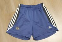Newcastle United Football Shorts Soccer 2001 2002 Away Size L Adidas Adult Mens