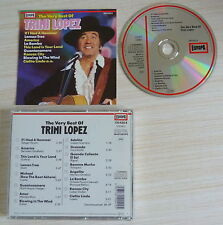 CD ALBUM THE VERY BEST OF TRINI LOPEZ 16 TITRES