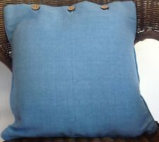 Cushion Cover Dusk Blue Scatter Decorator Throw Chair Sofa Couch Daybed