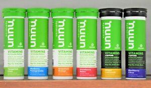Nuun Hydration Vitamins Choose Flavor