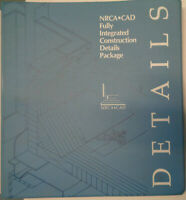 NRCA CAD Fully Integrated Construction Details Package - User Guide, V.1.1, 1992
