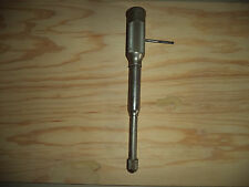 VINTAGE MILLER'S FALLS PUSH DRILL,WITH 7 ORIGINAL BITS