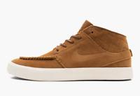 Nike SB Zoom Air Stefan Janoski Mid Crafted British Tan Size 8.5 SKU: AQ7460-201