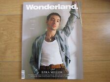 Wonderland Magazine Winter 2017 /18 Ezra Miller,Ana Maria,New