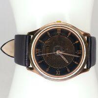 ES5181 Fossil World vintage 1990s Women's quartz watch Rose Gold 33 mm
