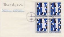 Canada #889 35¢ Canadian Painters LL Plate Block First Day Cover