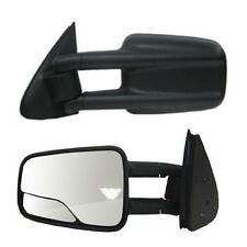 1999 2000 2001 2002-2007 Chevrolet Silverado Driver Side Manual Tow Mirror
