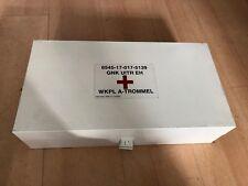 NATO Erste Hilfe First Aid Blechkasten 48 cm x 25 cm x 13 cm weiss
