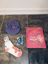 Care Bear Lot Keychain Hat Note Book Socks Love A Lot Grumpy Collection Vintage