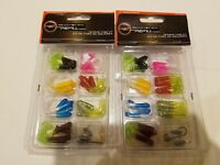 Crappie Tube Kit 31 pcs - Lot of 2 - NEW fish tackle bait Ready2Fish R2FRCTKIT