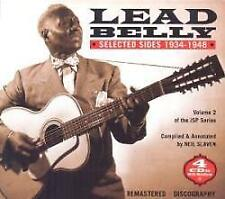 Leadbelly - Selected Sides 1934-1948 Volume 2 (NEW 4 x CD)