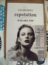 Taylor Swift Reputation two-sided promo poster Lot of 8 posters (rare) 11 X 17