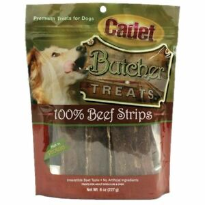 Cadet Butcher Treats Piggy Sticks 6 ounces