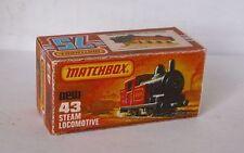 Repro Box Matchbox Superfast Nr.43 Steam Locomotive