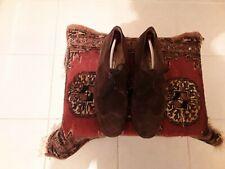 Bally Wildleder Schuhe in Braun Größe UK 10 Suisse Prestige 643.2143.120 selten