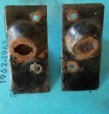 """1961 1962 1963 Lincoln Continental Rear Door Plunger Covers """"Left & Right """""""