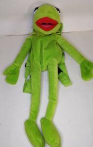 Disney Kermit The Frog Muppets Children's Plush Rucksack Backpack Bag