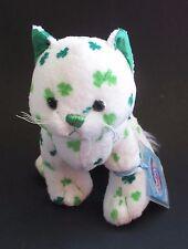 WB5 Clover cat  WEBKINZ PLUSH new code stuffed animal ganz irish