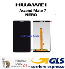 HUAWEI MATE 7 NERO - DISPLAY LCD + TOUCH SCREEN - GLS 24/48h