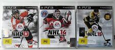 NHL 13 NHL 14 and NHL 15 PS3
