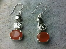 Carnelian Orange Fashion Jewellery