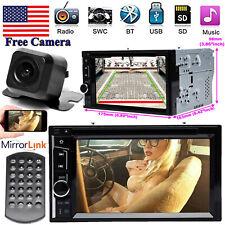 Bluetooth Radio 2Din Car Stereo Camera FM Fit Audi A1 A5 A6 Q3 A4 A8 S3 S4 S5 S6