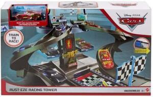 Disney Pixar Cars GJW42 Rust-eze Racing Tower(Box damaged)