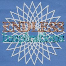 "6""x6"" Endless Inspirations Stencil, Spirograph 4 - Free US Shipping"