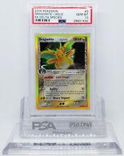 Pokemon EX DELTA SPECIES DRAGONITE #3 HOLO FOIL RARE CARD PSA 10 GEM MINT *