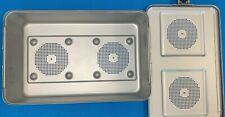 Aesculap Jn817 Sterilization Container Case Including Lid Amp 4 Filter Covers