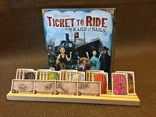 Ticket To Ride Rails and Sails Card Holders