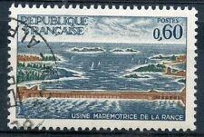 STAMP / TIMBRE FRANCE OBLITERE N° 1507 USINE MAREMOTRICE DE LA RANCE