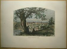 1884 print ERIE (FROM FEDERAL HILL), PENNSYLVANIA (#26)