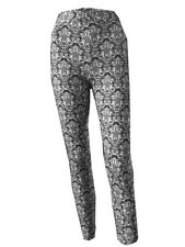 Women Fashion Leggings Jeans Trousers Stretchy Comfy High Waist Floral Mosaic UK