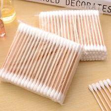 1000x Bamboo Cotton Buds Bamboo Natural Zero Waste Makeup ECO Biodegradable