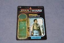 Vintage Star Wars 1985 POTF General Lando Pilot 92 Card Back w/ Attached Bubble!