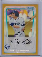 MIKIE MAHTOOK 2011 Bowman Chrome Draft Prospects Gold Refractor #30/50   (B6202)