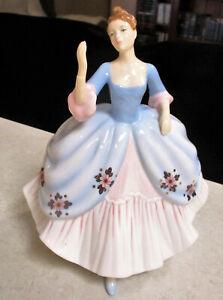 "ROYAL ALBERT 100 Years Figurine   ""Helen""  17cm High - Original Box - Excel Cond"