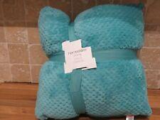 New Matalan Set of green soft touch Fleece Cushions 40cm x 40cm