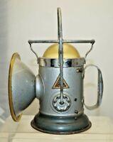 1930s - 40s Delta Electric Mining or Railroad Lamp Lantern