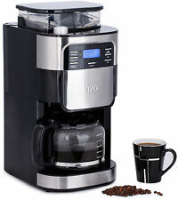 ViVo 1.5L Bean to Cup Digital Filter Coffee Maker Machine Integrated Grinder
