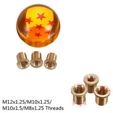 Autos 7 Star Dragon Ball 54mm Gear Shift Knob M12x1.25/M10x1.25/M10x1.5/M8x1.25