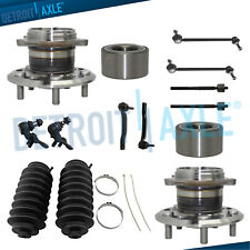 For 2004-2010 Toyota Sienna - 14pc Front Rear Wheel Bearing & Hub Sway Bars 4WD