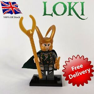 Loki Mini Figure UK Stock