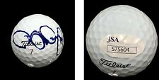 RORY MCILROY HAND SIGNED AUTOGRAPHED GOLF BALL WITH CASE AND JSA COA S75604