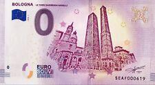BILLET 0 ZERO EURO SCHEIN SOUVENIR BOLOGNA  2018-1
