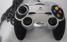 Radica: Gamester Xbox Controller (2001)  Silver-(For Original Xbox) Used--Tested