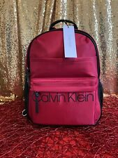 Calvin Klein Red Nylon Backpack 🎒