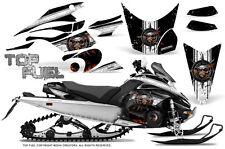 Yamaha FX Nytro 08-14 Graphics Kit CreatorX Snowmobile Sled Decals TOP FUEL WB
